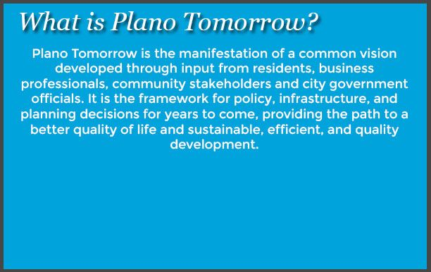 What is Plano Tomorrow_1