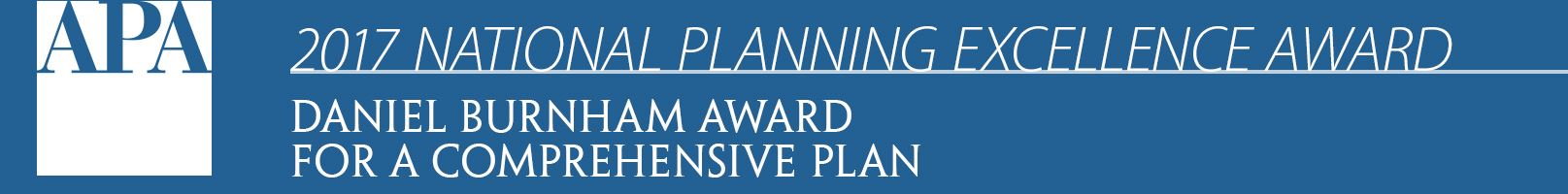 National Planning Award