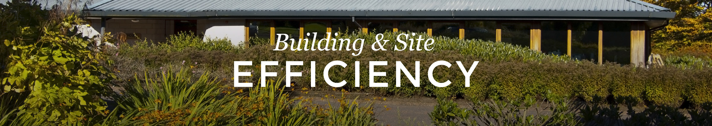 Building and Site Efficiency
