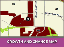 Growth and Change Map
